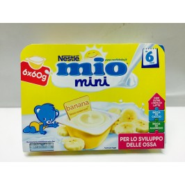 Nestle Mio mini Merenda al Latte Banana 6x60g